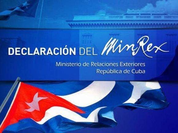 El Minrex rechazó la decisión de EE.UU. de reducir para los ciudadanos cubanos el tiempo de validez de la visa B2 de 5 años a tres meses.