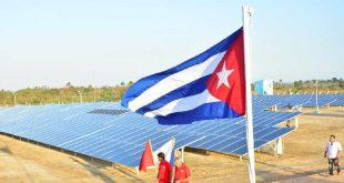 Energía renovable, electricidad, parque solar