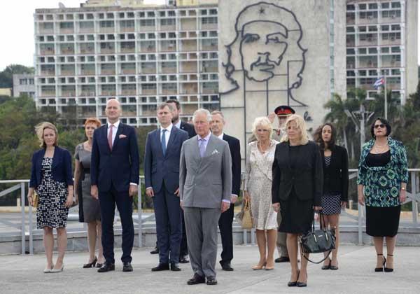cuba, reino unido, altezas britanicas