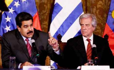 Uruguay figura entre las naciones solidarias con Venezuela. (Foto: TeleSUR)