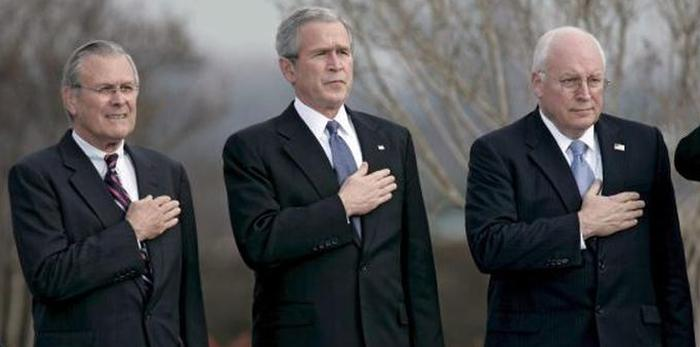 bush, Cheney, Rumsfeld