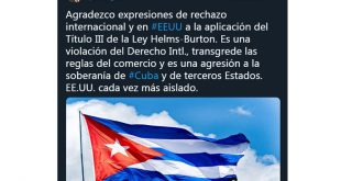 Cuba, Estados Unidos, Minrex, Bruno Rodríguez