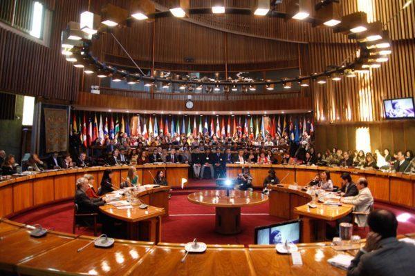 Más de mil delegados de una treintena de países participaron en el Foro, efectuado en la sede de la Cepal.