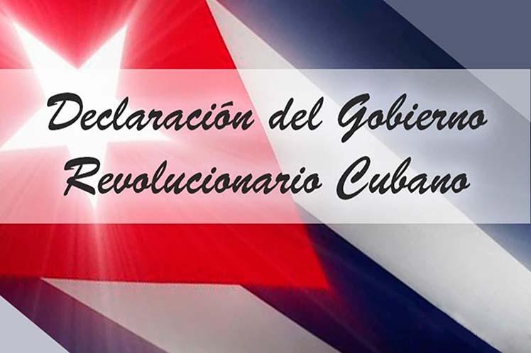 Cuba enmarca las medidas de Washington en su empeño de reforzar el uso de la Doctrina Monroe para la dominación en América Latina.