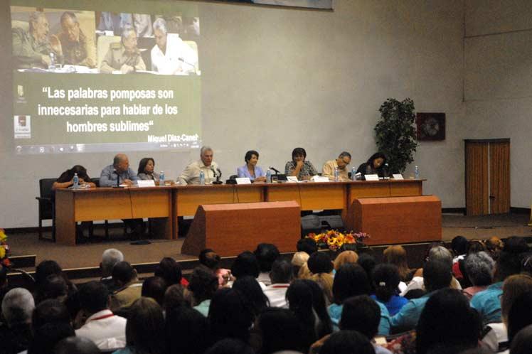 La ministra precisó que la cobertura del personal docente resulta el principal problema que afecta la educación cuabana. (Foto: PL)