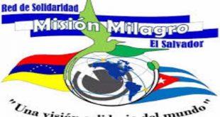 El Salvador, Cuba, misión Milagro, médicos