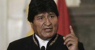 Bolivia, Estados Unidos, Evo Morales