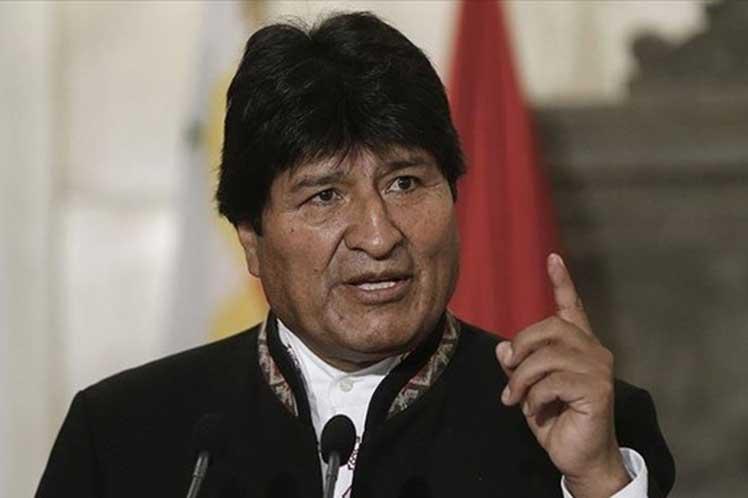 Evo invitó al Senado de EE.UU. a presenciar las elecciones bolivianas en octubre. (Foto: PL)