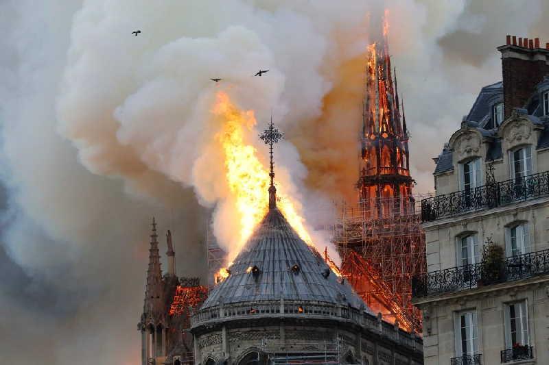 francia, paris, museo, notre dame, incendio