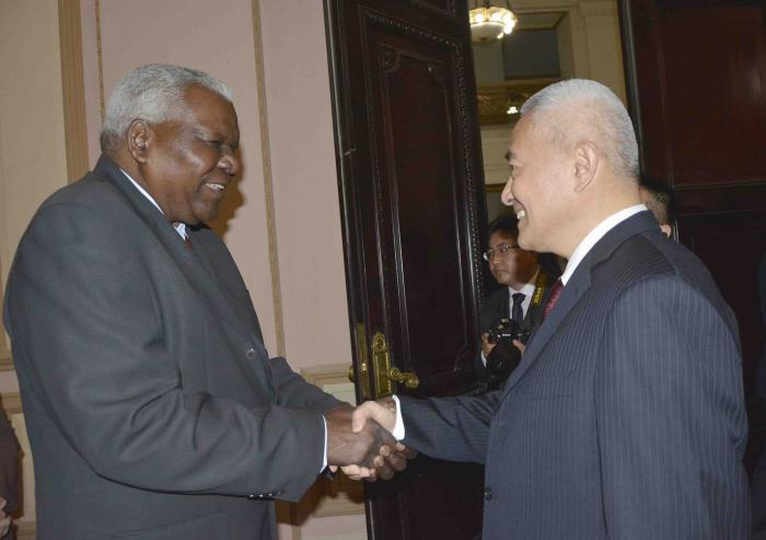 Lazo recibió a Shao Hong, vicepresidente de la Conferencia Consultiva Política del Pueblo Chino. (Foto: Tony Hernández)