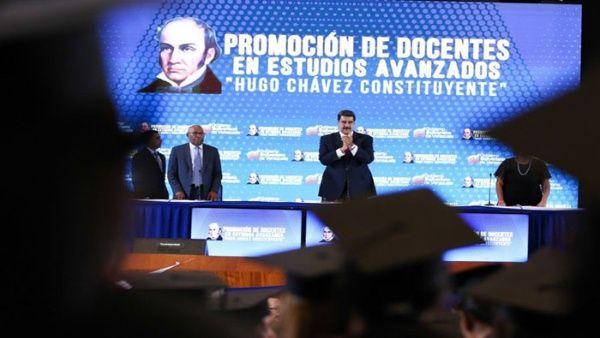 Maduro destacó que el legado de Chávez se puede observar en los logros sociales alcanzados por el pueblo. (Foto: Prensa Presidencial)