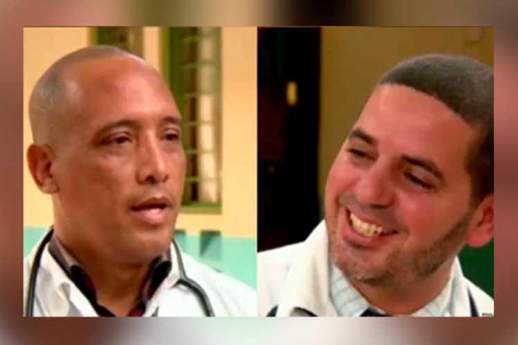 Amigos de Cuba y el mundo han apoyado a familiares de los médicos cubanos secuestrados. (Foto: PL)