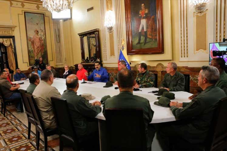 Maduro consideró que los ataques fueron un golpe de engaño y violencia, 'que ha dejado sin máscaras a la oposición golpista'. (Foto: PL)