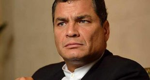 rafael correa, interpol