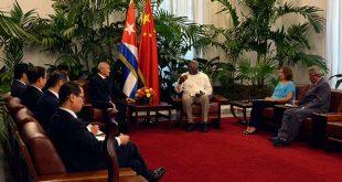Cuba, China, Salvador Valdés