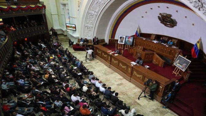 Con el acuerdo, la Asamblea Constituyente da cumplimiento a la Constitución de la República, votada por el pueblo venezolano. (Foto: TeleSUR)