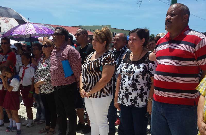 Episan resultó sede de las actividades por el 8 de Abril en la provincia. (Foto: Xiomara Alsina / Escambray)