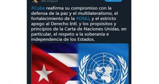 Cuba, ONU, Canciller, Minrex