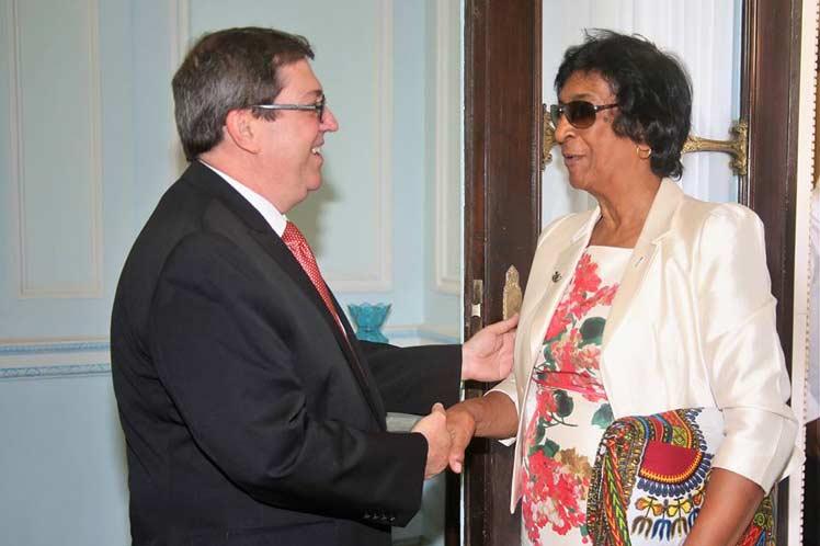 Ambas partes intercambiaron sobre el estado de la aplicación de la pena de muerte en el mundo. (Foto: PL)
