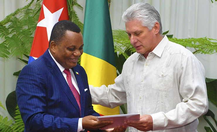 cuba, republica del congo, miguel diaz-canel, presidente de cuba