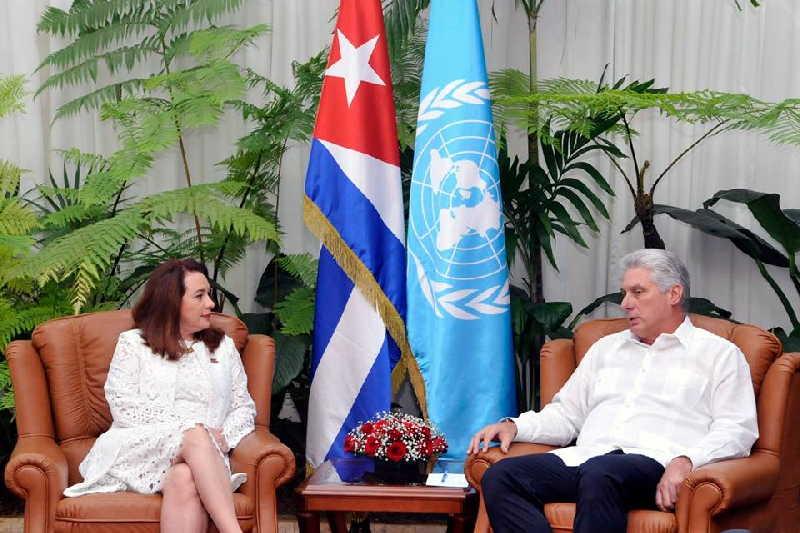 cuba, asamblea general de naciones unidas, miguel diaz-canel, presidente de cuba