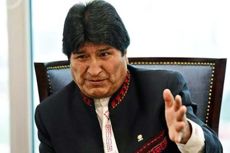Ahora Bolivia es conocida y lo que ofrecen es invertir, ser socios, indicó Evo. (Foto: PL)