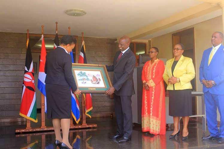 Vicepresidente de Kenya agradece a Cuba