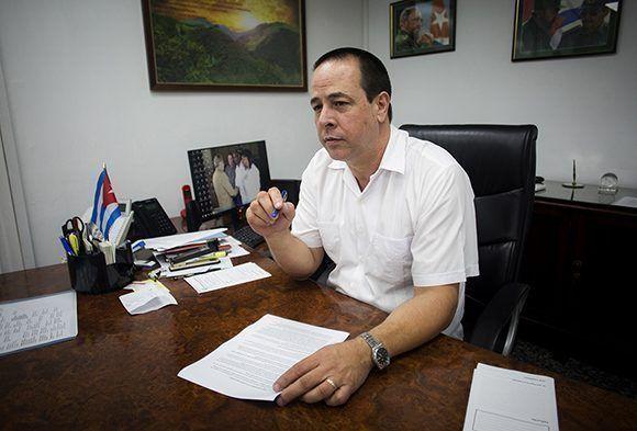 José Ángel Portal Miranda, ministro de Salud Pública. (Foto: Cubadebate)