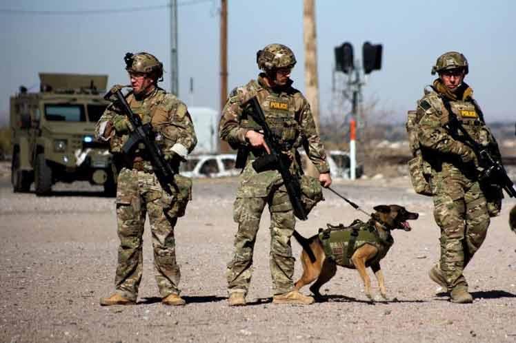 Este paso evidencia el creciente papel de apoyo de las fuerzas militares a las políticas migratorias de Trump. (Foto: PL)