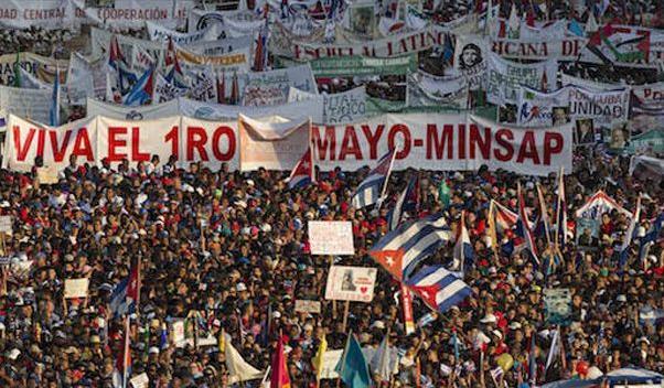 cuba, primero de mayo, dia internacional de los trabajadores