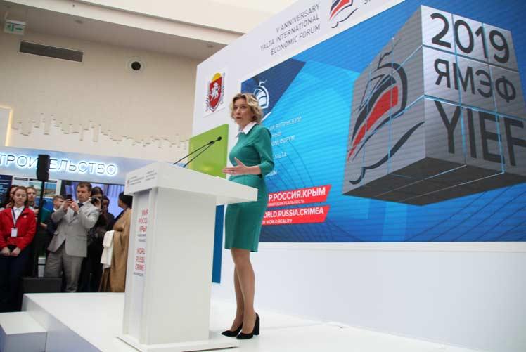 Pese a la oposición existente, la Casa Blanca continúa con sus amenazas belicistas, afirmó Zajarova. Foto: PL.
