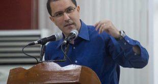 Venezuela, bloqueo, Jorge Arreaza