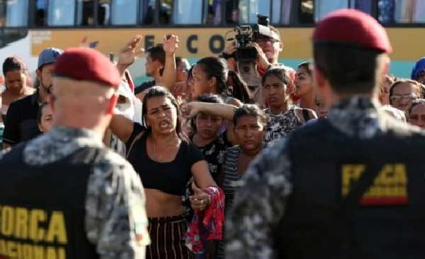 brasil, carcel, muertes