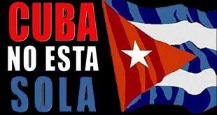 Cuba, Estados Unidos, solidaridad