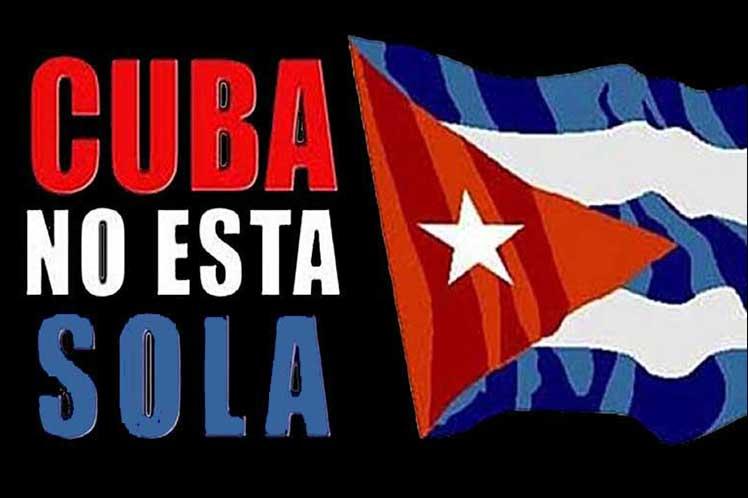 Entre las muestras solidarias hacia Cuba, se incluyen mensajes de Rusia y China.