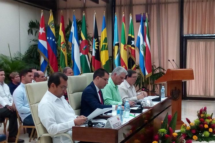 El mecanismo integrador repudió la doctrina Monroe, la mayor amenaza para la paz entre los pueblos  de la región. (Foto: PL)
