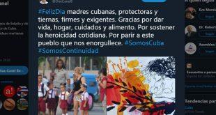 Díaz-Canel, madres, Cuba