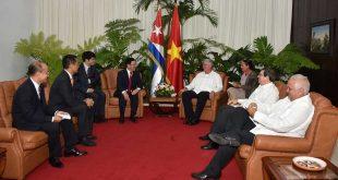 Cuba, Vietnam, Díaz-Canel, Raúl Castro