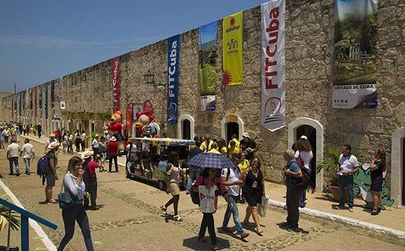 Fortaleza de San Carlos de la Cabaña, sede de la 39 Feria Internacional de Turismo de Cuba. (Foto: Ismael Francisco)