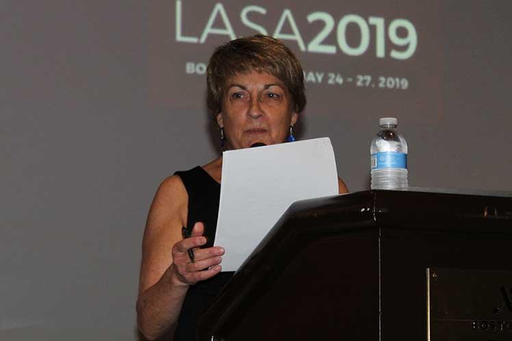 Lynn Stephen sostuvo que someterá a votación de los miembros de LASA una resolución sobre Cuba. (Foto: PL)