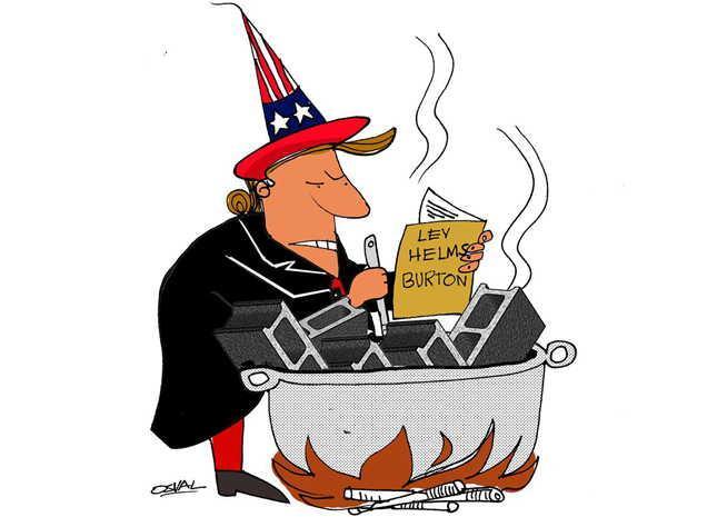 cuba, estados unidos, ley helms-burton,combatientes de la revolucion cubana, acrc