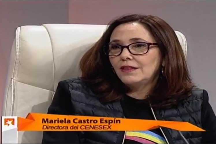 Mariela Castro significó que la Ley de Leyes reconoce de manera explícita los derechos sexuales de las personas Lgbti. (Foto: PL)