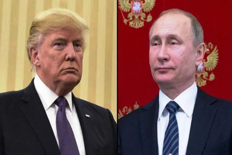 Trump y Putin conversaron durante más de una hora. (Foto: PL)