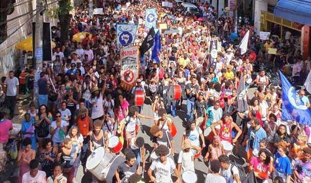 brasil, jair bolsonaro, protestas
