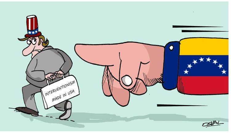 venezuela, estados unidos, oposicion venezolana, juan guaido, injerencia