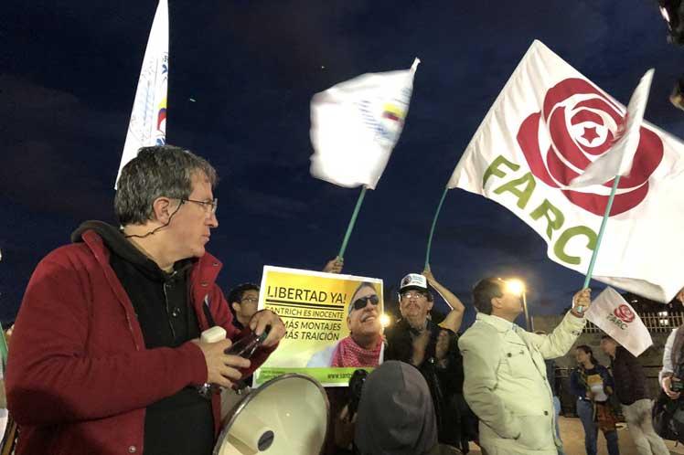 Diferentes sectores políticos en Colombia pidieron no dilatar la libertad del dirigente Jesús Santrich.