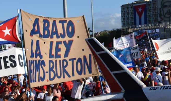 cuba, ley helms-burton, relaciones cuba-estados unidos, bloqueo de eeuu a cuba