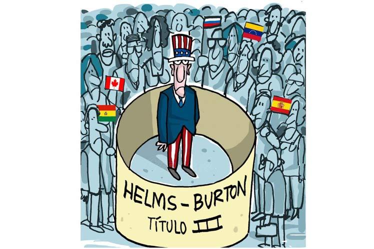 La Ley Helms Burton (vigente desde 1996), ha sido rechazada por la comunidad internacional. (Imagen: PL)