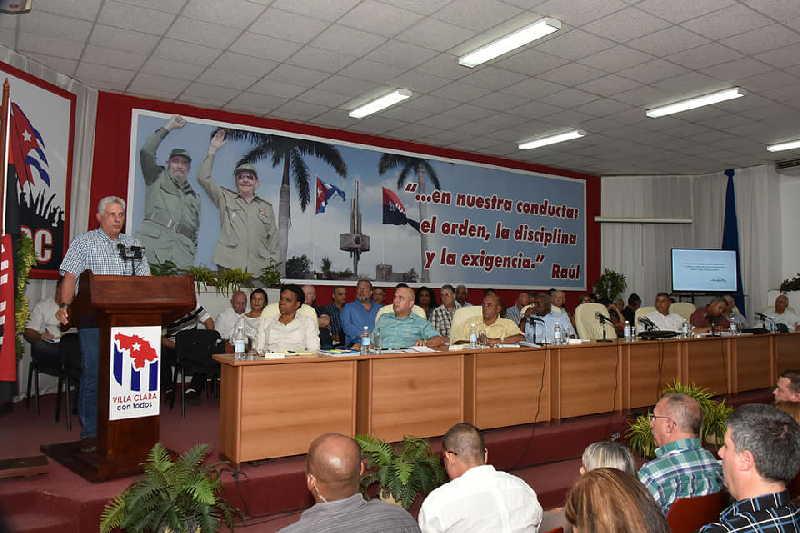 villa clara, miguel díaz-canel, presidente de cuba