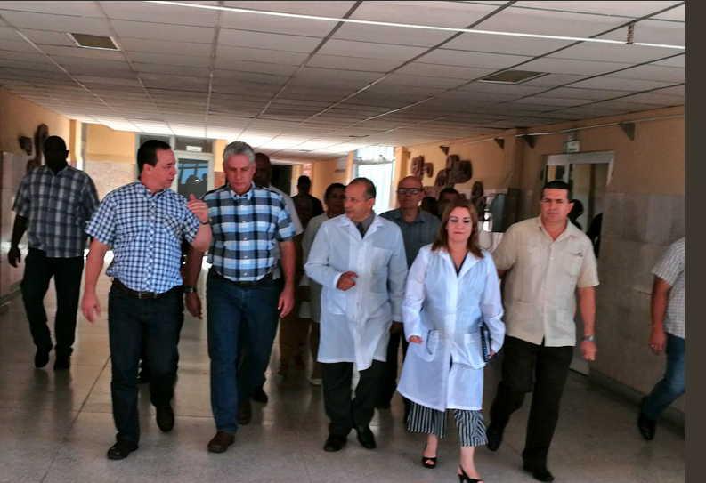 cuba, holguin, salud publica, miguel diaz-canel bermudez, presidente de cuba